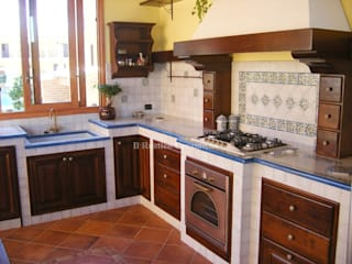 Arredo Cucina di Ceramiche Il Rustico Caltagirone Mediterraneo