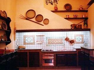 Arredo Cucina di Ceramiche Il Rustico Caltagirone Rustico