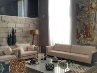 Casa Metropolitana por Aadna.Design Minimalista