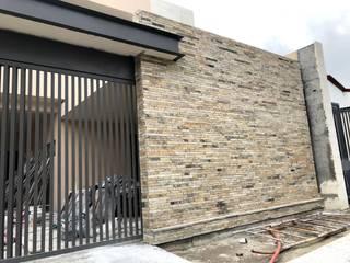 Acabados Monterrey Rumah teras Batu Beige