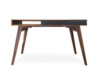 Antal Diseño Study/officeDesks Kayu Wood effect