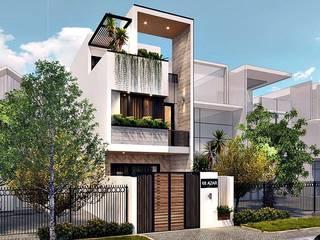 _Thi công Nhà phố đẹp Đà Nẵng | Ms. Hoàng bởi Công ty TNHH Xây dựng & Thương mại Vũ Hưng Thịnh