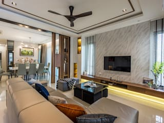 Modern Living Room by Simsan Design Modern