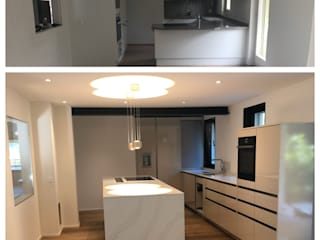 Küchenumbau: modern  von LU Estate GmbH,Modern