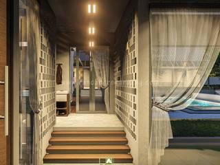 Rancang Reka Ruang Single family home Iron/Steel White