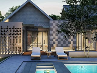 Rancang Reka Ruang Casa unifamiliare Ferro / Acciaio Bianco