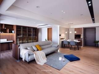 赫里亞手工訂製沙發 Living roomSofas & armchairs Leather Grey