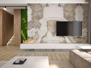Nevi Studio Living room Stone White
