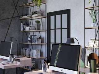 Офис г.Москва Рабочий кабинет в стиле лофт от БОРИС ЯКУЩЕВ Лофт