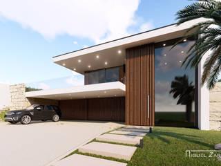 Casas estilo moderno: ideas, arquitectura e imágenes de Miguel Zarcos Palma Moderno