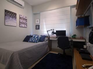 Projeto Quartos Irmãos Quartos modernos por Duplex Interiores Moderno