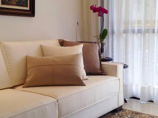 Projeto Barra da Tijuca lX Salas de estar clássicas por Duplex Interiores Clássico