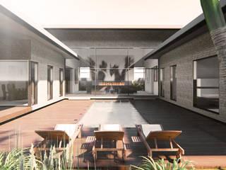 VILLA BARRIAL de Espacio Arquitectura Moderno