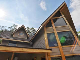 苗栗銅鑼-張公館 居林木構建築|木屋設計|木屋建造|木屋保養|整體規劃設計營建|歡迎email聯繫 木屋 木頭 Brown