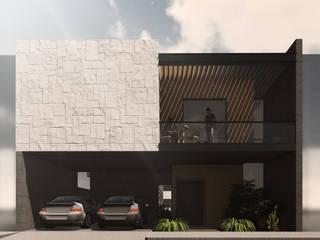 LA ENCOMIENDA II Espacio Arquitectura Casas unifamiliares Piedra Multicolor