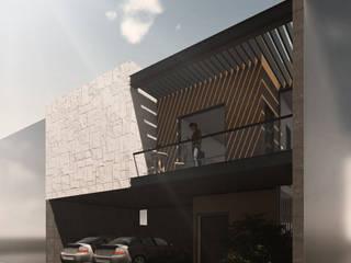 LA ENCOMIENDA II Espacio Arquitectura Casas unifamiliares Hierro/Acero Multicolor