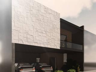 LA ENCOMIENDA II Espacio Arquitectura Casas unifamiliares Madera Multicolor