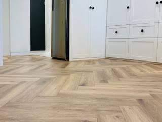 人字拼系列 KRONOTEX德國高能得思地板 玄關、走廊與階梯櫥櫃與書櫃 複合木地板 Wood effect