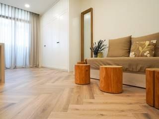 人字拼系列 KRONOTEX德國高能得思地板 客廳沙發與扶手椅 複合木地板 Wood effect