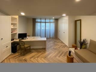 人字拼系列 KRONOTEX德國高能得思地板 書房/辦公室儲藏櫃 複合木地板 Wood effect