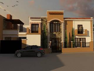 Proyecto Casa RE de Bocetos Studio Aquitectos Mediterráneo