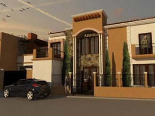 Proyecto Casa RE Casas mediterráneas de Bocetos Studio Aquitectos Mediterráneo