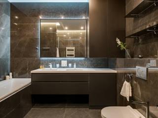 Квартира в ЖК Новопечерские Липки Ванная комната в стиле модерн от homeinteriors Модерн