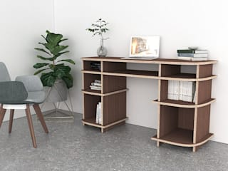 form.bar Study/officeDesks Engineered Wood Wood effect