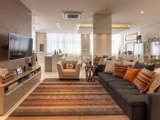Apartamento AJ:  tropical por Traço design interiores,Tropical