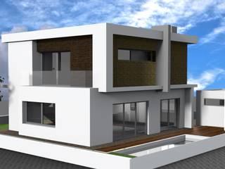 Moradia Casas modernas por askarquitetura Moderno