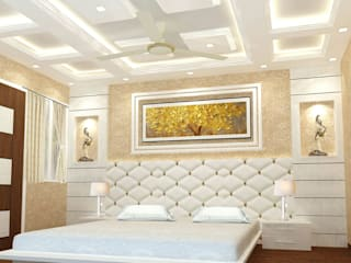 3 BHK Residence Deoria ( U.P. ) by GREEN FERN INTERIOR