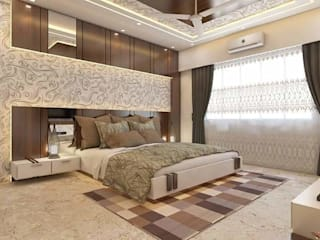 3 BHK Residence Gomti Nagar Lucknow ( U.P. ) by GREEN FERN INTERIOR