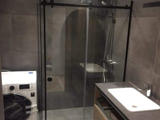 RİCH SERİSİ BEVEL DUŞAKABİN BanyoKüvet & Duşlar Cam Siyah