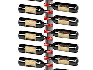Garrafeiros - Adegas para Vinho Moderne Weinkeller Metall Schwarz
