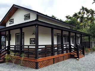 南投鹿谷-張公館 居林木構建築|木屋設計|木屋建造|木屋保養|整體規劃設計營建|歡迎email聯繫 木屋 木頭 White
