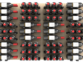 Garrafeiros - Adegas para Vinho Wine cellar Wood-Plastic Composite Multicolored