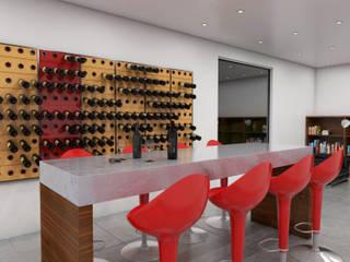Garrafeiros - Adegas para Vinho Moderne Weinkeller Plastik Schwarz