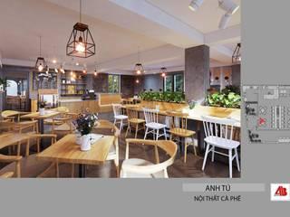 Thiết kế nội thất quán cafe hiện đại tại Mỹ Đình, Hà Nội Thiết Kế Nội Thất - ARTBOX