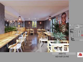 Thiết kế nội thất quán cafe hiện đại tại Mỹ Đình, Hà Nội bởi Thiết Kế Nội Thất - ARTBOX