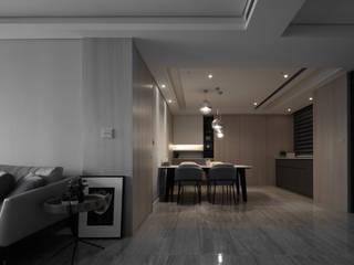 海華 城隅設計 餐廳 Wood effect