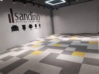 Karo Halı - Sandino Ofis Asil Halı Sanayi ve Ticaret A.Ş. Zeminler Gri