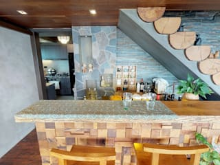 Eclectic style kitchen by FNW(全港)一站式裝修材料 Eclectic