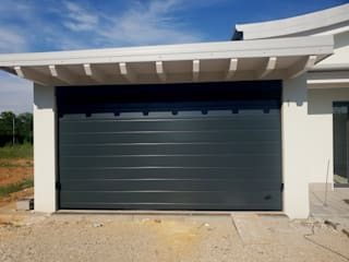Officine Locati Garage Doors Iron/Steel Green