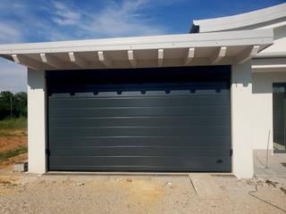 Officine Locati Portões de garagem Ferro/Aço Verde
