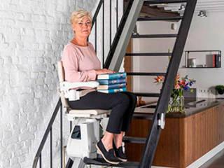 Missner Treppenlifte Kundenbetreuer Verl Mehrfamilienhaus