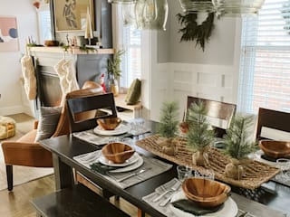 Colours of Fall Modern dining room by Sunbrella Modern