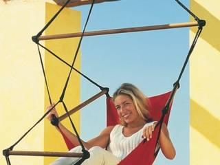 Ein Plädoyer für kleine Balkone und Terrassen! von CrazyChair Hängematten Mediterran