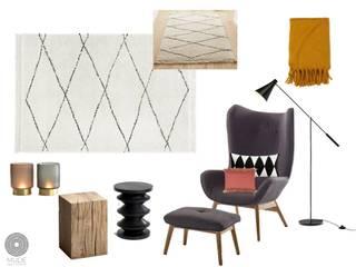 Livings de estilo escandinavo de MUDE Home & Lifestyle Escandinavo