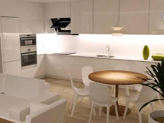 Cocinas de estilo moderno de MUDE Home & Lifestyle Moderno