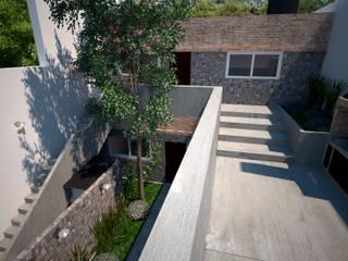D4-Arquitectos Casas multifamiliares Piedra Gris
